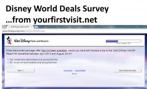Disney World Deals Survey from yourfirstvisit.net p2
