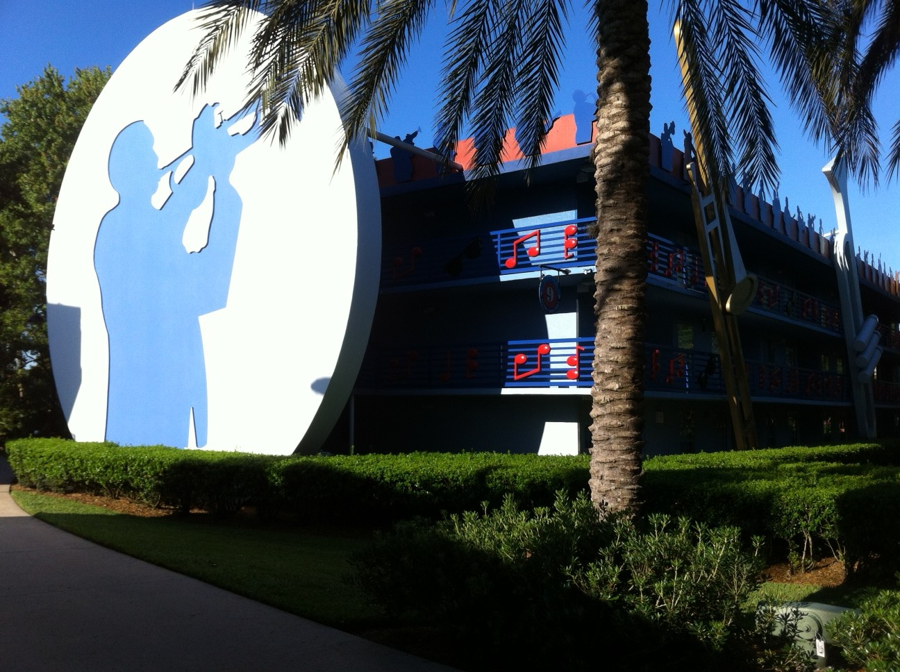 The Themed Areas At Disney S All Star Music Resort