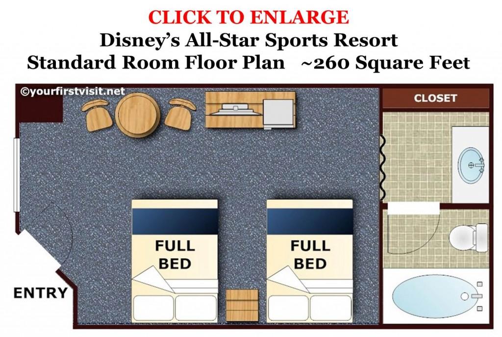 All-Star Sports Floor Plan from yourfirstvisit.net