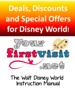 Deals, Discounts and Special Offers for Walt Disney World from yourfirstvisit.net