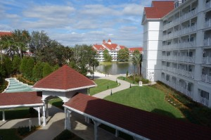 View from My Standard-View Room at the Villas at Disney's Grand Floridian from yourfirstvisit.net