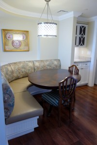 Dining Table and Chairs  in One and Two Bedroom Villas at Disney's Grand Floridian Resort & Spa from yourfirstvisit.net
