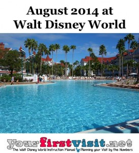 August 2014 at Walt Disney World from yourfirstvisit.net