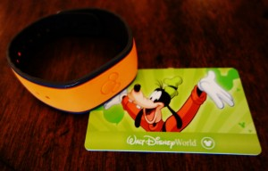 Two Tickets--one on MagicBand, the other on Card