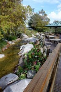 Downstream Disney's Wilderness Lodge from yourfirstvisit.net
