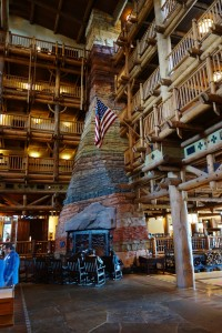 Lobby Fireplace at Disney's Wilderness Lodge from yourfirstvisit.net