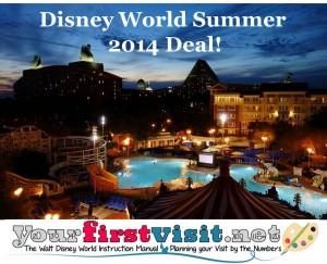 Disney World Summer 2014 Deal from yourfirstvisit.net