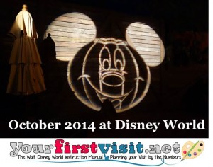 October 2014 at Walt Disney World from yourfirstvisit.net