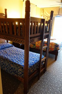 Bunk Bed at Disney's Animal Kingdom Lodge from yourfirstvisit.net