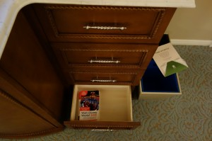 Drawers Main Dresser at Disney's Grand Floridian Resort & Spa from yourfirstvisit.net
