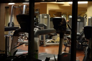 Gym Disney's Animal Kingdom Lodge from yourfirstvisit.net