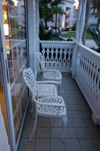 Patio at Disney's Grand Floridian Resort & Spa from yourfirstvisit.net