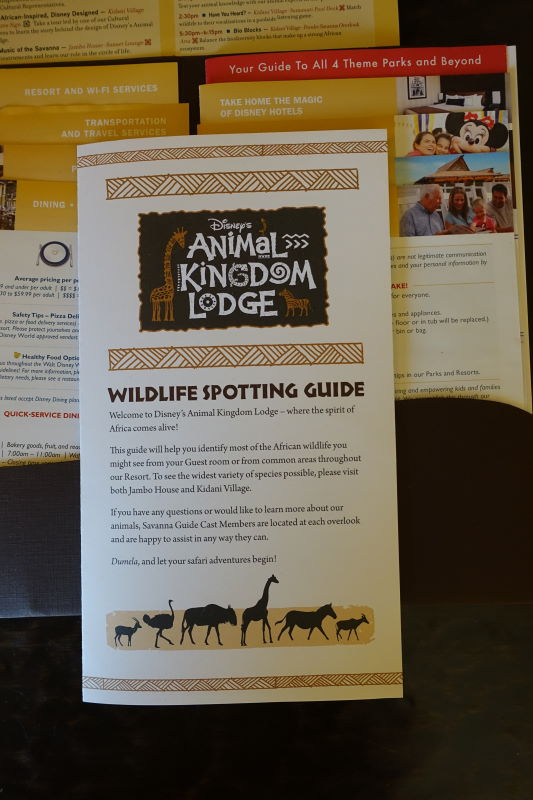 Spotting Guide Disney's Animal Kingdom Lodge from yourfirstvisit.net