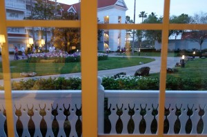 View From My Room at Disney's Grand Floridian Resort & Spa from yourfirstvisit.net
