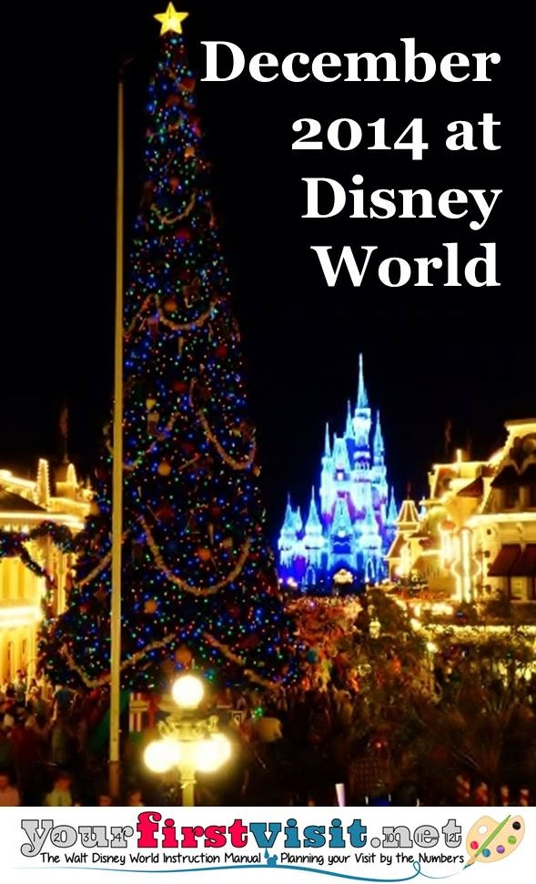 December 2014 at Walt Disney World from yourfirstvisit.net
