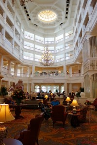 Main Lobby at Disney's Grand Floridian from yourfirstvisit.net