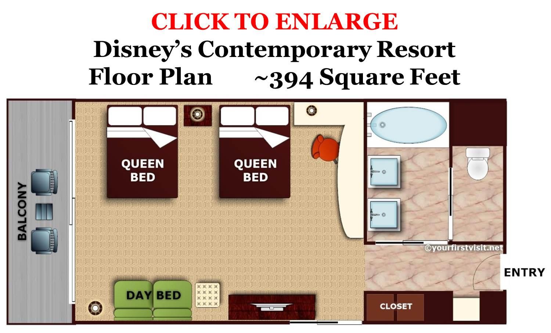 Review Disney 39 S Contemporary Resort