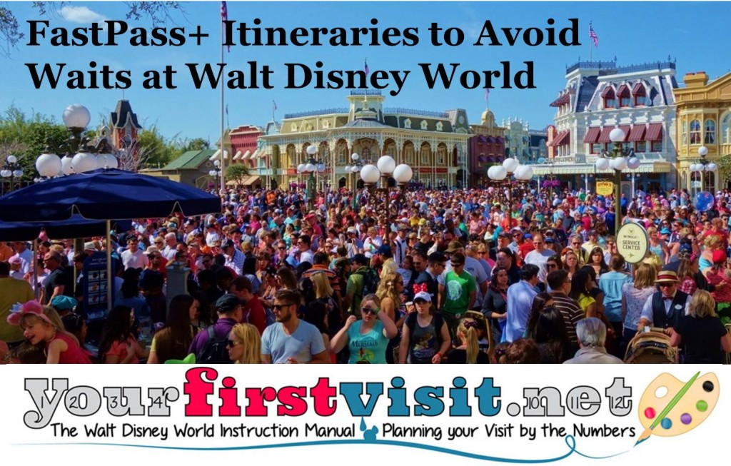 Using FastPass+ Itineraries to Avoid Waits at Walt Disney World from yourfirstvisit.net