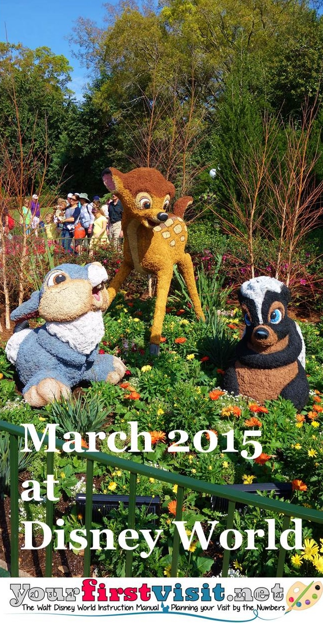 March 2015 at Walt Disney World from yourfirstvisit.net