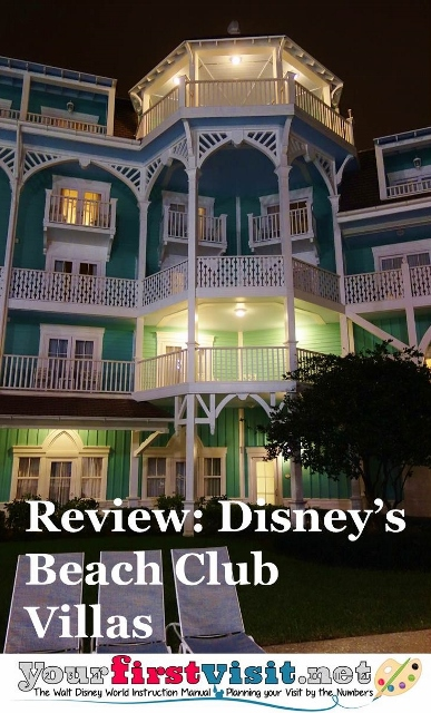 Review - Disney's Beach Club Villas from yourfirstvisit.net