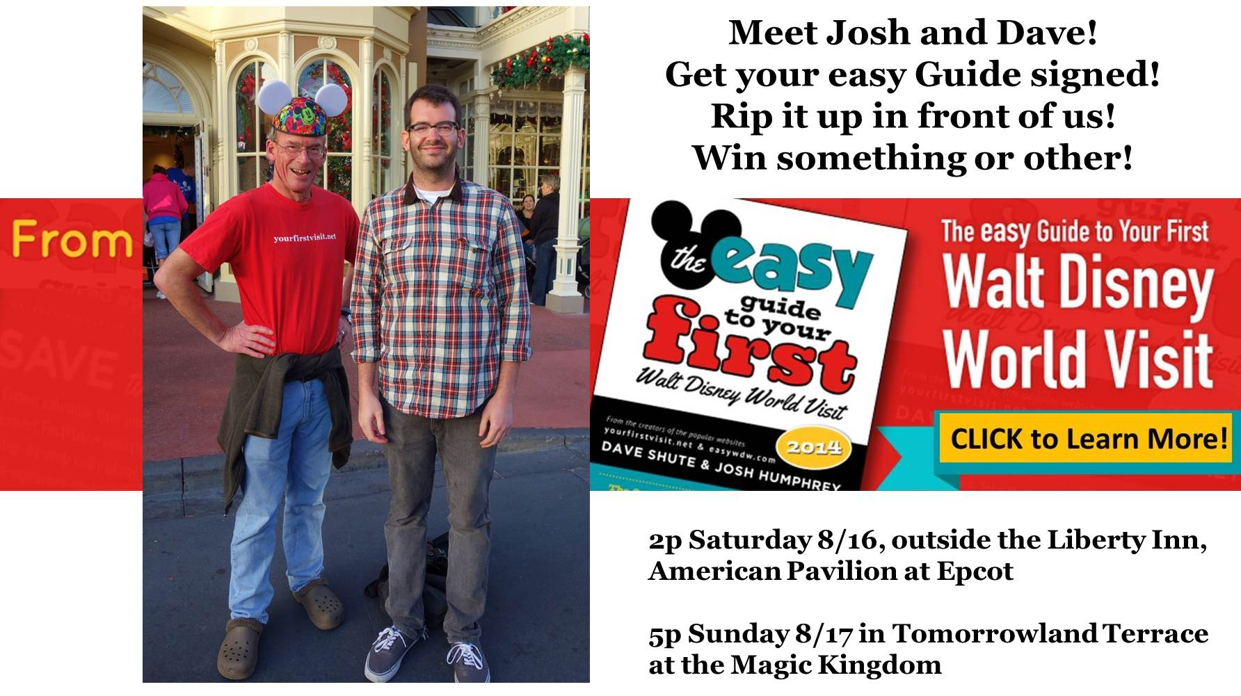 The easy Guide Authors Meet-up 8-16 and 8-17