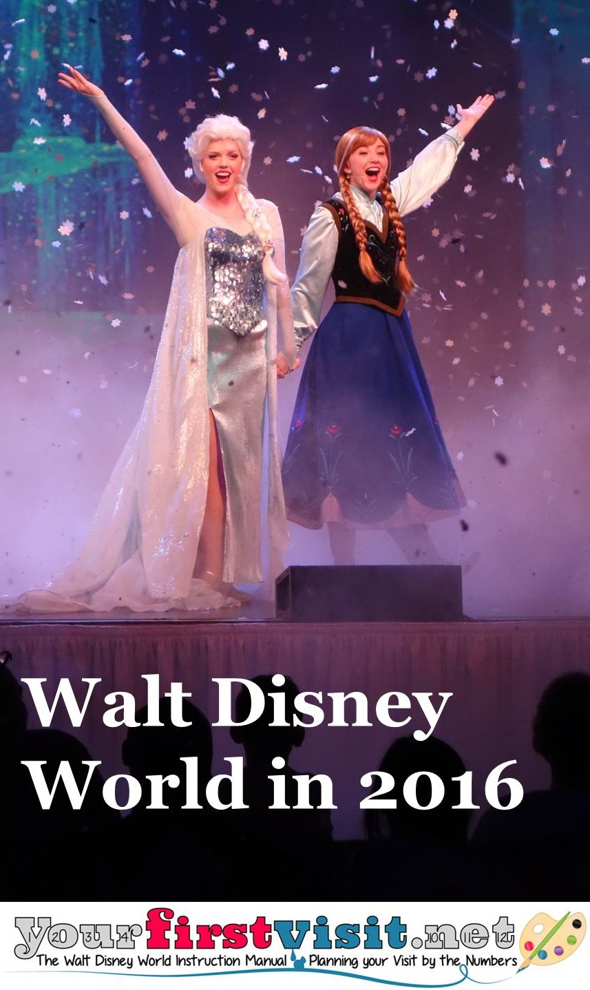 Disney World in 2016 from yourfirstvisit.net
