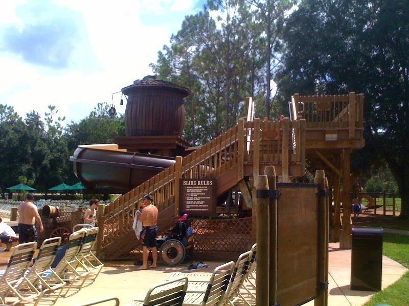 Review the pools at disney 39 s fort wilderness resort for Disney cabins fort wilderness