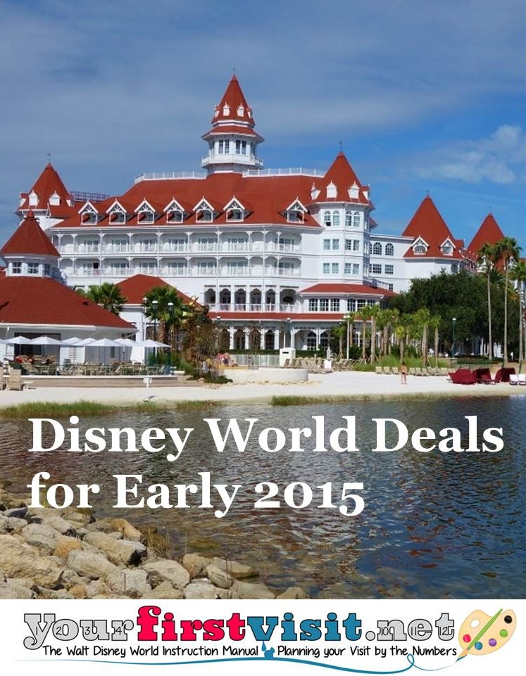 Disney World Deals Discounts and Special Offers for Early 2015 from yourfirstvisit.net