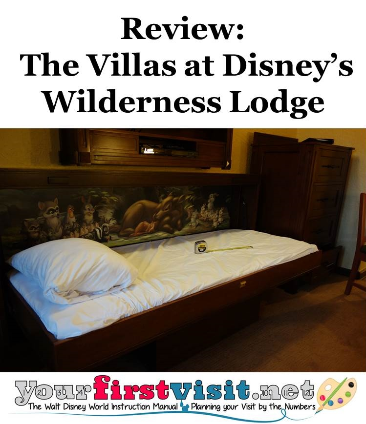 Review - The Villas at Disney's Wilderness Lodge from yourfirstvisit.net