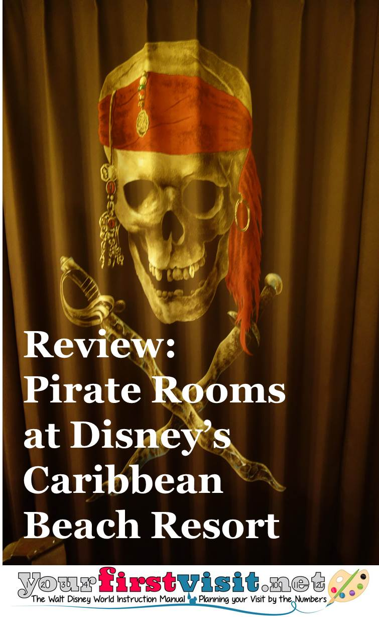 Review Pirate Rooms at Disney's Caribbean Beach Resort from yourfirstvisit.net