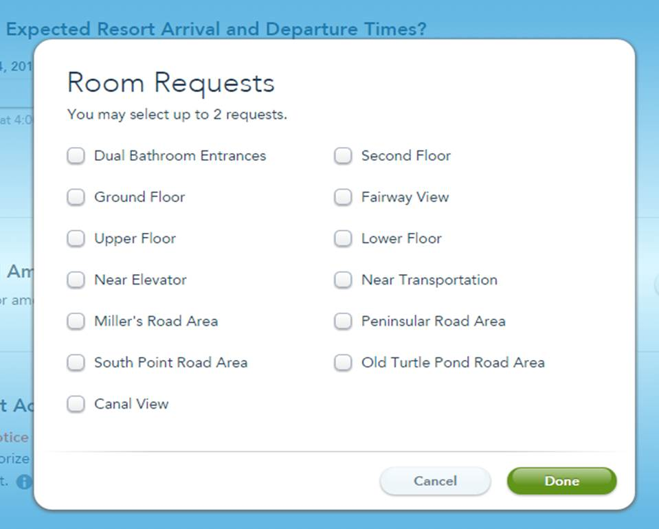 Disney's Old Key West Resort On Line Check In