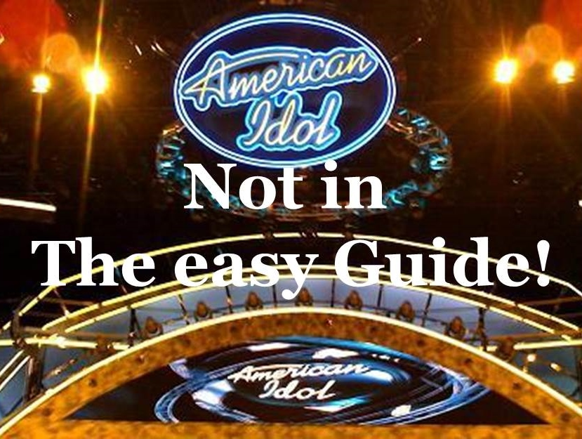 Not in The easy Guide