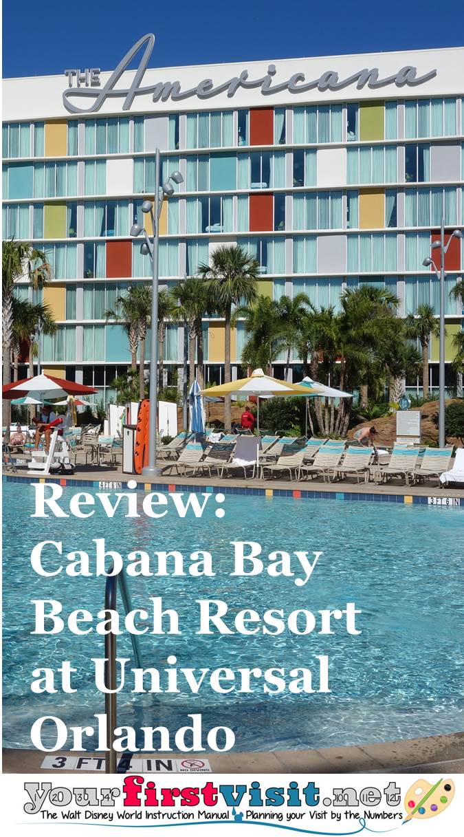 Review Cabana Bay Beach Resort at Universal Orlando from yourfirstvisit.net