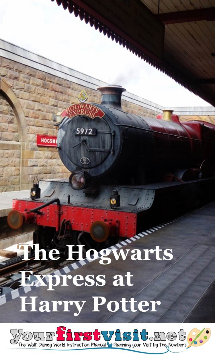 Hogwarts Express at the Wizarding World of Harry Potter from yourfirstvisit.net