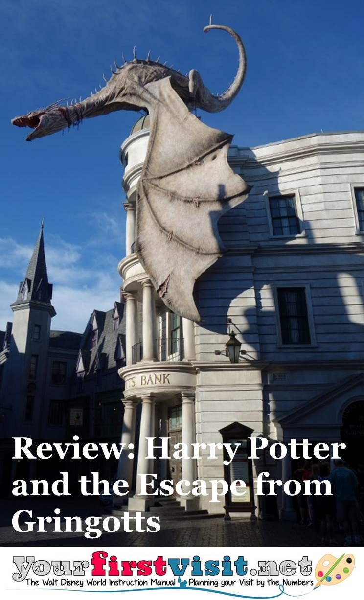 Review - Harry Potter and the Escape from Gringotts from yourfirstvisit.net