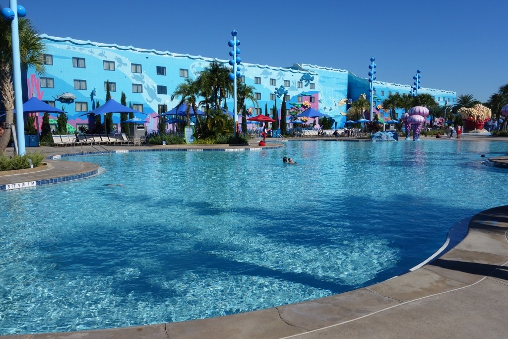 The Pools At Disney S Art Of Animation Resort