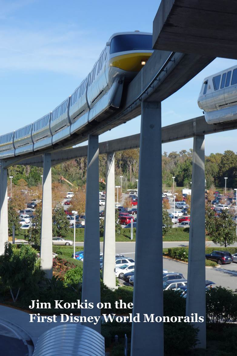 Jim Korkis on the First Disney World Monorails from yourfirstvisit.net