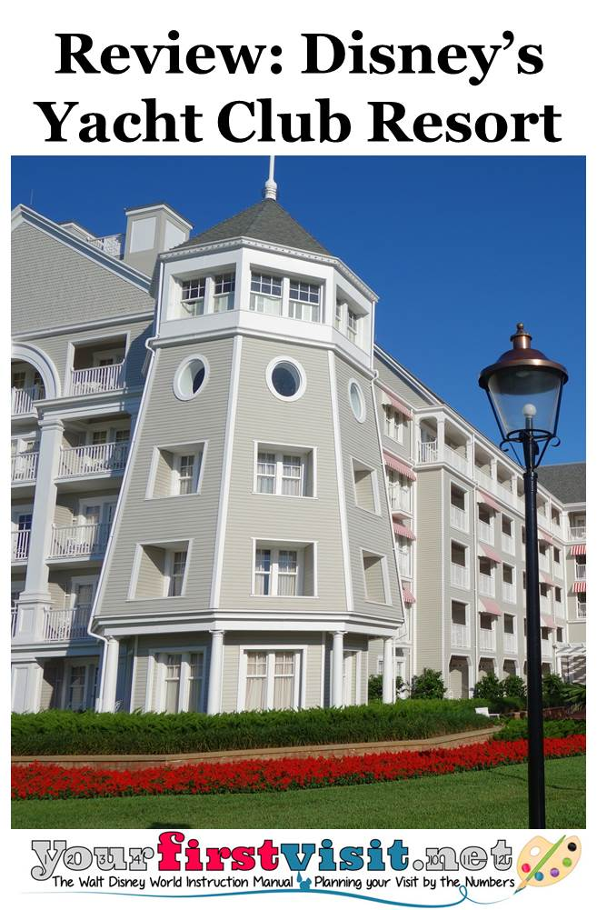 Review - Disney's Yacht Club Resort from yourfirstvisit.net