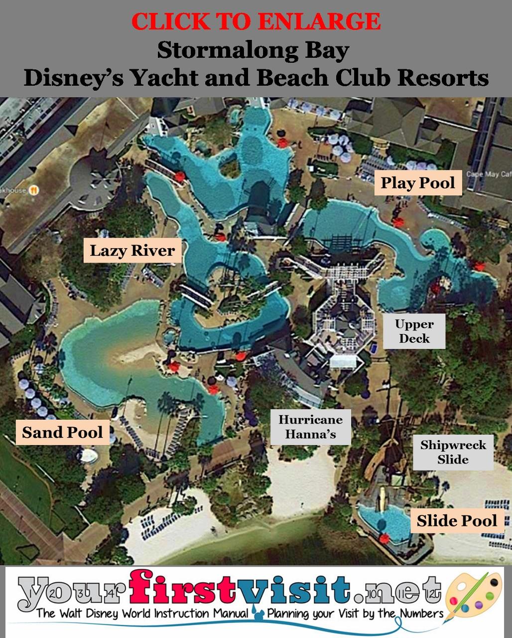 Stormalong Bay At Disney S Yacht And Beach Club Resorts