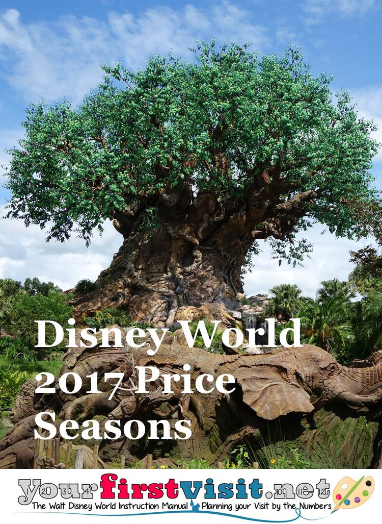 Disney World 2017 Price Seasons