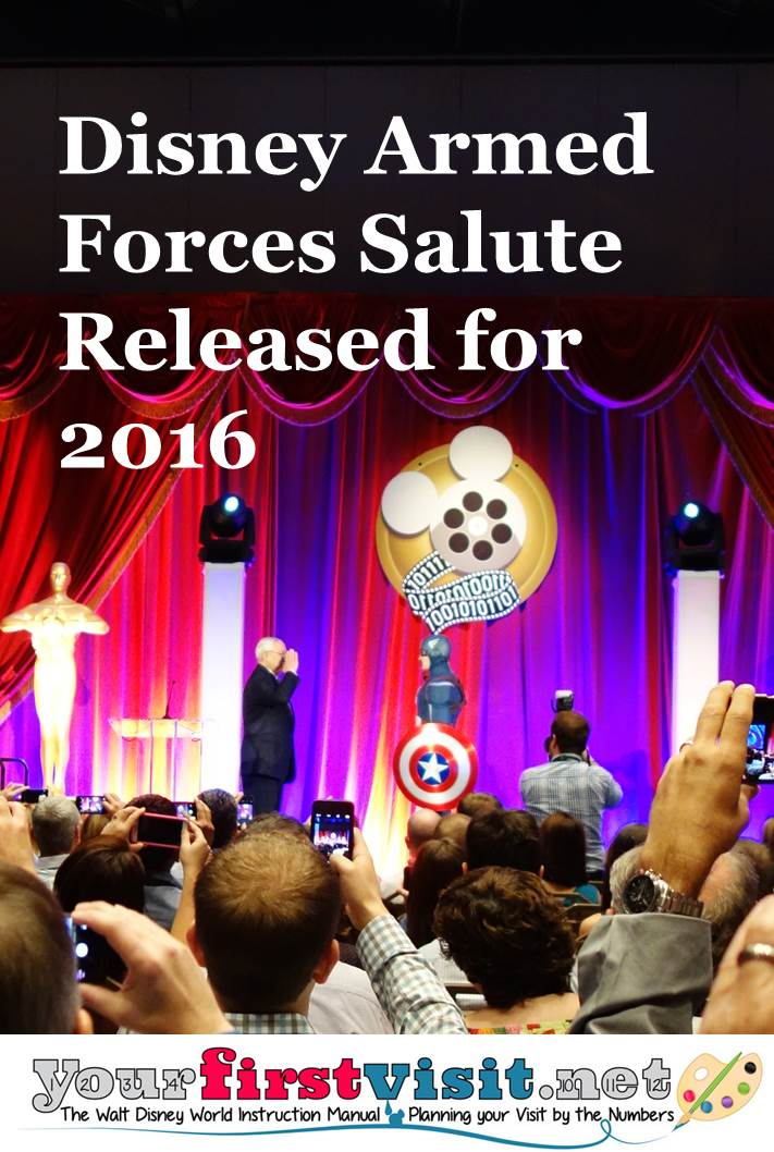 Disney's Military Salute Extended Into 2016 from yourfirstvisit.net
