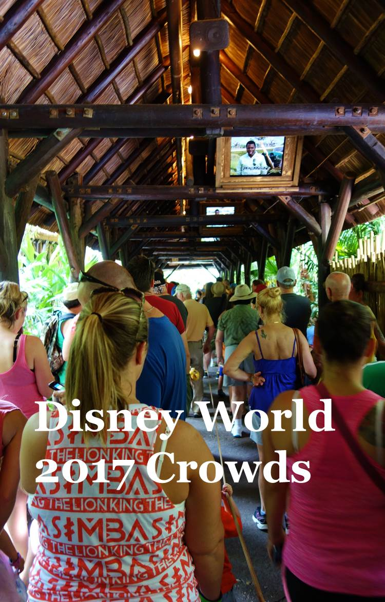 Disney World Crowds in 2017 from yourfirstvisit.net
