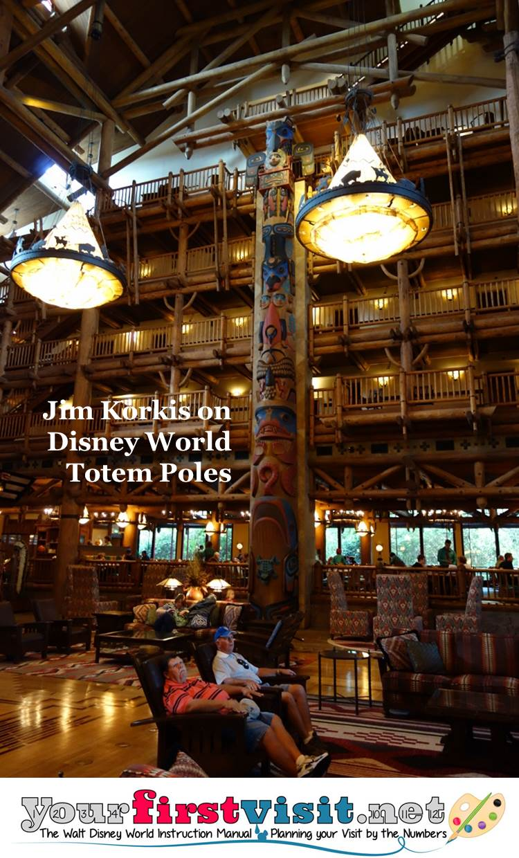 Jim Korkis on Disney World Totem Poles from yourfirstvisit.net
