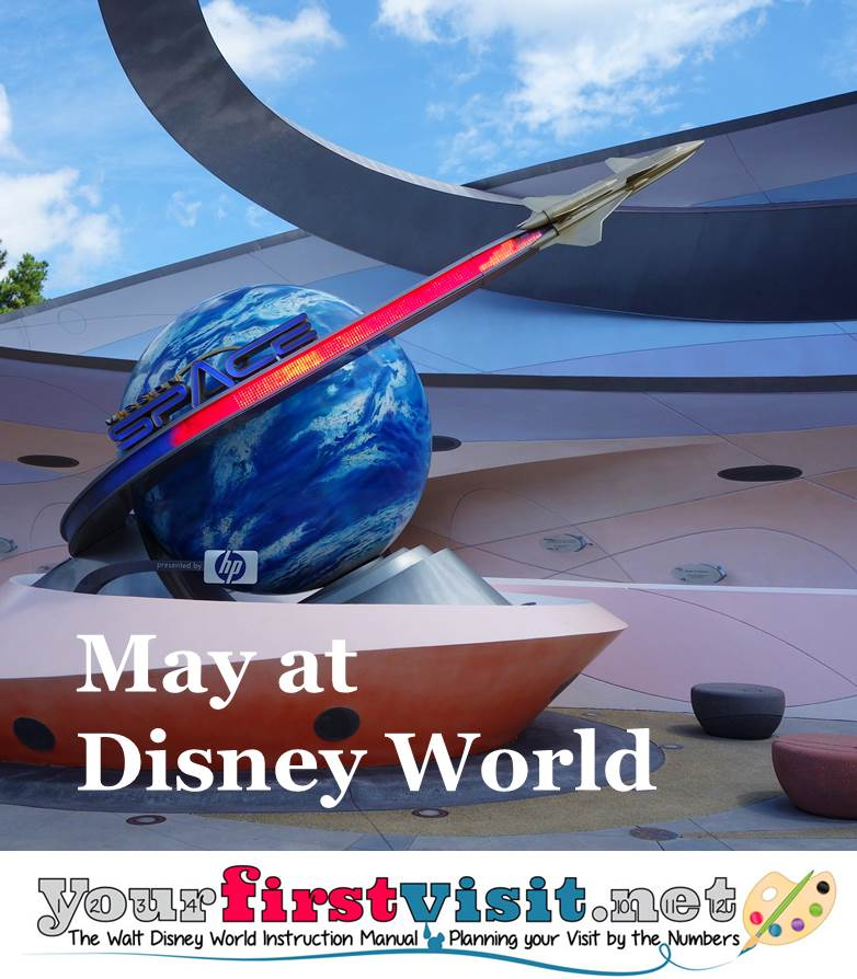 May 2016 at Walt Disney World