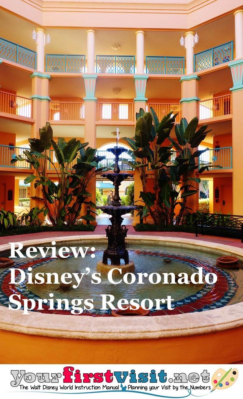 Review Disney's Coronado Springs Resort from yourfirstvisit.net