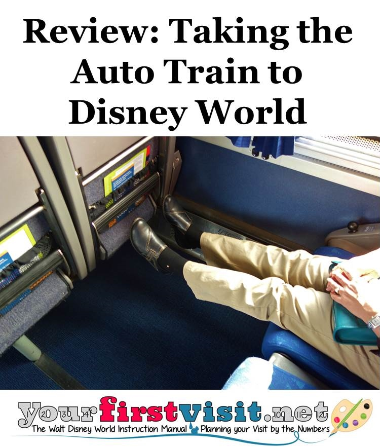 Review - Taking the Auto Train to Disney World from yourifrstvisit.net