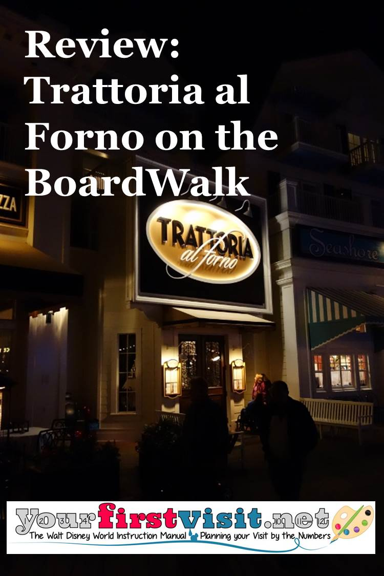 Review Trattoria al Forno from yourfirstvisit.net