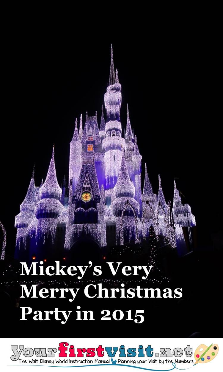 Mickey's Very Merry Christmas Party in 2015 from yourfirstvisit.net