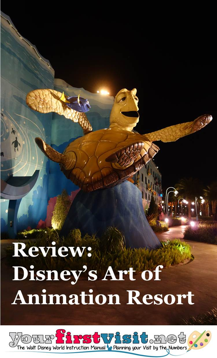 Review - Disney's Art of Animation Resort from yourfirstvisit.net