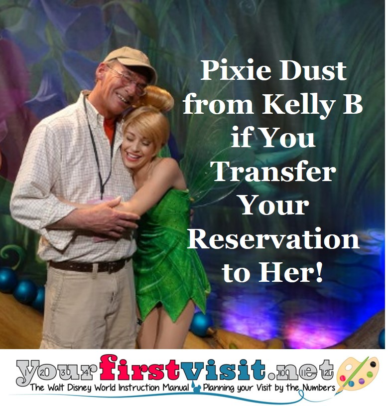 Pixie Dust for Reservation Transfers
